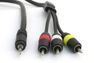 ISOTECH Audio Cable 1x3.5 mm to 3xRCA M/M 5,0m