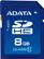 A-DATA Memory card SD  8GB A-Data Class 10