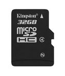 KINGSTON Kingston - Flashminnekort - 32 GB - Class 4 - microSDHC (SDC4/ 32GBSP)