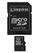 KINGSTON 8 GB microSDHC med SD adapter  Class 10