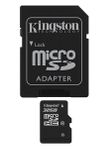 KINGSTON 32GB microSDHC Card Class 10 incl adapter