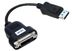 ACCELL Displayport till DVI-D Single-Link adapter, svart