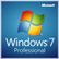 MICROSOFT Windows 7 Pro 64-bit SP1 OEM, DVD, Engelsk