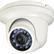 "QIHAN CCD dome vandalskyd. färgkamera,  Sony 1/3"", 420TVL, IR 20m, vit"