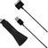 DELTACO ciggladdare från 12V till 5V 2,1A för iPad, 1m synkkabel,  svar