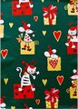 Julpapper 57cmx154m christmas cat / CE SWEDEN BRANDS (882576)
