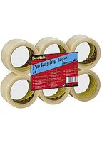Packtejp SCOTCH PP HotMelt 50mmx66m klar