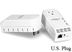 TRENDNET 200Mbps Powerline AV Ethernet Adapter Kit w/Pass Through Power Outlet