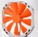 PHANTEKS Phanteks PH-F140TS-OR Premium Case Fan - Orange