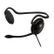 VIDEO SEVEN V7 HEADSET BEHIND THE NECK BLK STEREO PHONES MIC VOLCONTR IN
