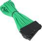 BITFENIX 24-Pin ATX Verlängerung 30cm - sleeved grün/schwarz
