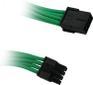 BITFENIX 8-Pin PCIe Verlängerung 45cm - sleeved grün/schwarz
