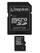 KINGSTON 32GB microSDHC med SD adapter Class 4