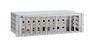 ALLIED TELESYN 12 slot media converter rackmount chassis with redundant power option