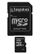 KINGSTON 16 GB microSDHC med SD adapter  Class 10