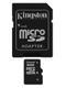 KINGSTON 16 GB microSDHC med SD adapter  Class 10 (SDC10/ 16GB)