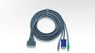 ATEN 6FT 3-IN-1 PS2 PREMIUM KVM CABLE F/MASTERVIEW PRO