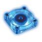 AKASA Lo-Noise Chipsetkjølervifte, 40x40mm, Blått Lys, 5000 Rpm, 23.97 dBA