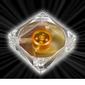 AKASA Ultra Quiet Amber Vifte 80mm, 1800 RPM, 25.4 CFM, 20.0 dBA