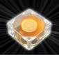 AKASA Ultra Quiet Amber Vifte 60mm, 2300 RPM, 12.9 CFM, 23.0 dBA