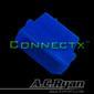 AC RYAN 4-Pol Molex Male UV Blue
