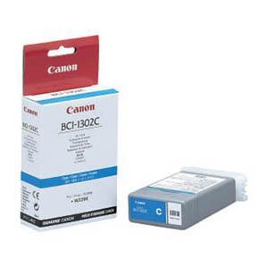 CANON cyan blæktank BCI1302C (130 ml)