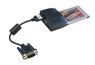 EXSYS PCMCIA, 1 x RS422/485, EX-1361 32-bit P&P, 1 x DB9M plugg, 16C550