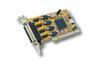 EXSYS EX-43294, 4 x seriell, lav profil 3,3V & 5V, 64/32-bit, 16C950 UART