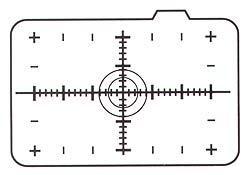 CANON LASER MATTE W/SCALE FOCUSING SCREEN EC-H EOS-1D/-1DS/EOS-1V/