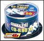 MAXELL CDR 80MIN 700MB 48X 50PK NS