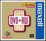 MAXELL DVD+RW 120 MIN 4X CAKEBOX 10 PCS NS