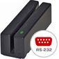 MAGTEK MAGSTRIPE PORT PWR MSR TRACK 1/2/3 RS232 BLACK W/6FT DE9 CABL