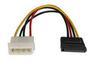 "LINDY Strømadapter 5¼"" Power > SATA Overgang 4-pin > 15-pin"