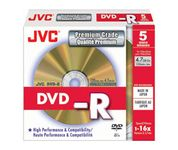 DVD-R 16X 4,7GB 5-pack slimcase