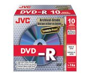 DVD-R 16X 4,7GB Archival 10-pack