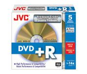 DVD+R 16X 4,7GB 5-pack SlimCase