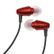 KLIPSCH Image S3 Metallic Red/Black röd/svart hörlur in-ear