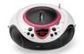 LENCO SCD-38 Stereo Anlæg Pink med USB