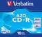 VERBATIM CD-R Verbatim 52x 10p 80m/ 700MB,  JC, Crystal