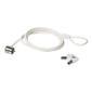 SAFEWARE Stldskydd Keylock White 1.7m 1 ls & gla, 5mm wire