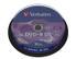 VERBATIM DVD+R DL 8X 10p spin spindle