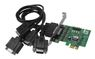 SIIG IO JJ-E40011-S3 DP CYBERSERIAL 4S PCIE BROWN BOX