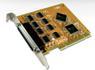 SUNIX PCI 8xSerieport Single Bracket 8 Stk. Serieporter DB9M