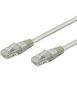 WENTRONIC kabel patch CAT 6 UTP 3m grå UTP bulk