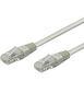 WENTRONIC kabel patch CAT 6 UTP 1m grå UTP bulk