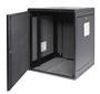 ACOUSTI Wall Cabinet  9U Glassdør, støysvake vifter og støvfilter