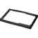LIAN-LI dämpande gummipackning för nätdelar, svart