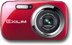 "CASIO Digitalcam Exilim N5 Red 16.1MP 6x Optical Zoom (26-156mm) 2.7"" LCD HD Video"