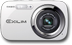 "CASIO Digitalcam Exilim N5 White 16.1MP 6x Optical Zoom (26-156mm) 2.7"" LCD HD Video"