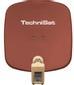 TECHNISAT TV Sat DigiDish 45 Twin, Brick Red